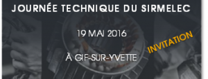 Invitation journée du Sirmelec - 19 mai 2016