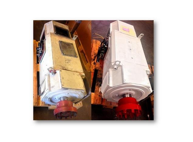 Révision et bobinage d'un moteur à courant continu
