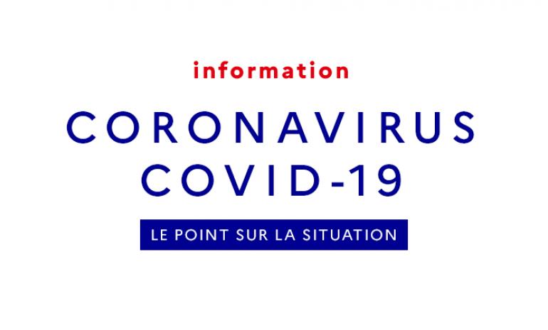 Coronavirus, le point sur la situation