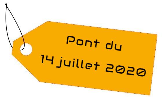 13 juillet 2020 : ABE fait le pont