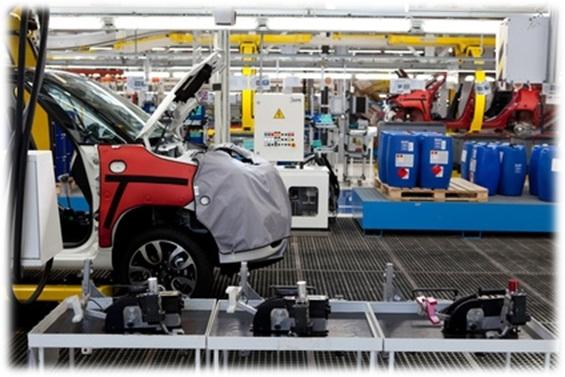 réparations électronique dans l'industrie automobile