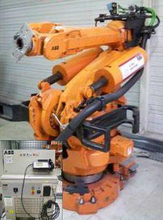 Robot ABB avec sa baie de commande