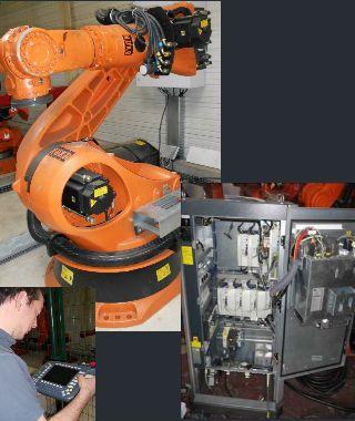 Robot KUKA KRC150
