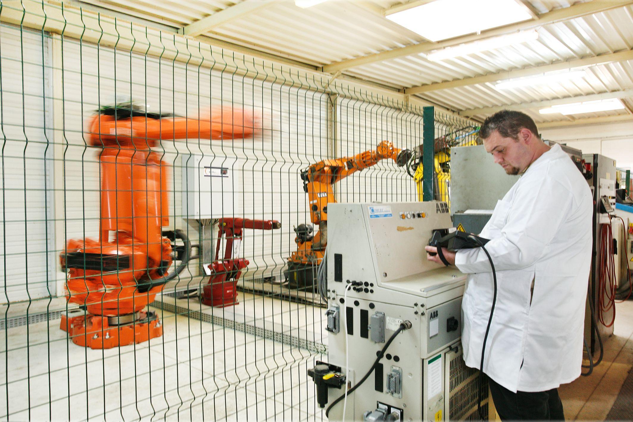 Robots chez ID-Rep