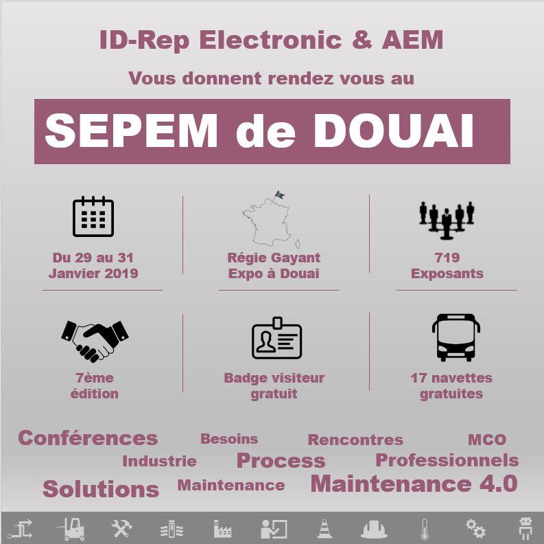 ID-Rep Electronic vous donne rendez-vous au SEPEM de Douai